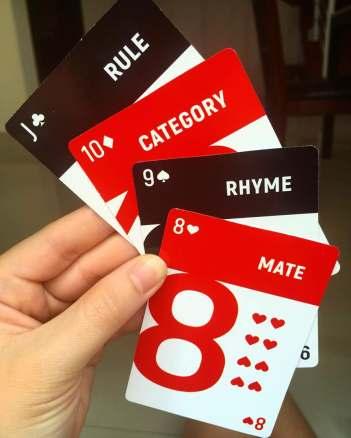 cards inside